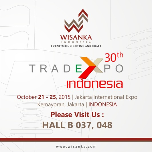 tei the 30th trade expo indonesia 2015 indonesia rattan rattan