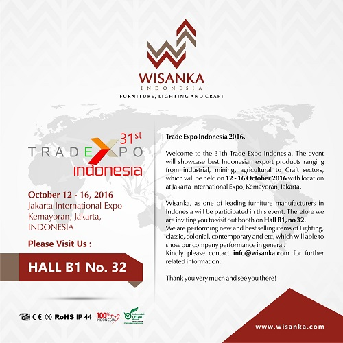 Invitation, WISANKA on TEI 2016