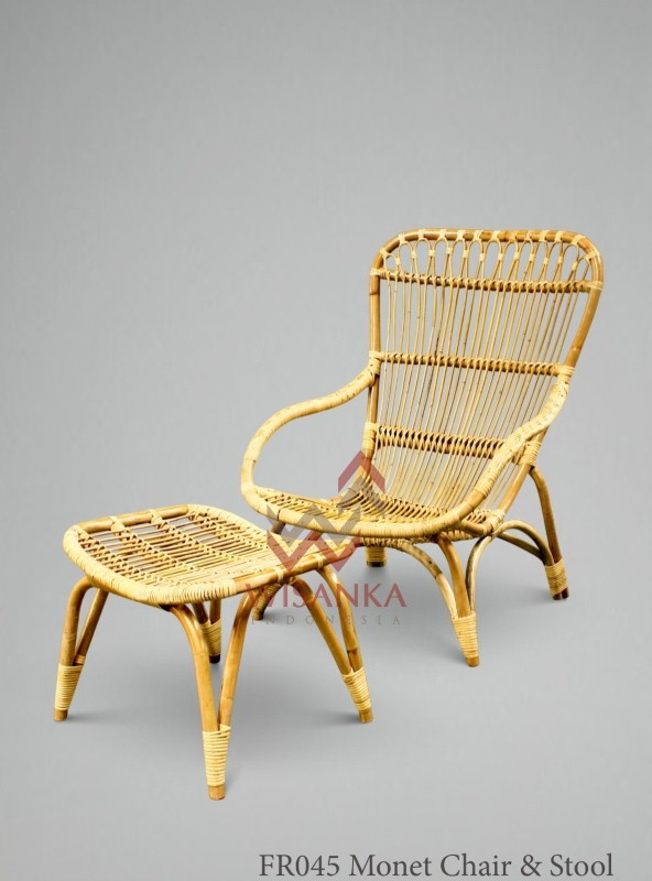 Natural Cane Furniture as Part of Indonesia