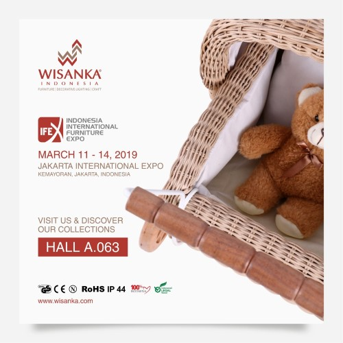 IFEX 2019 Indonesia Rattan Furniture