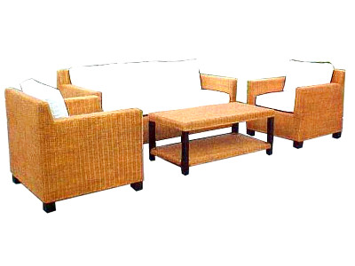 Nana Rattan Living Set