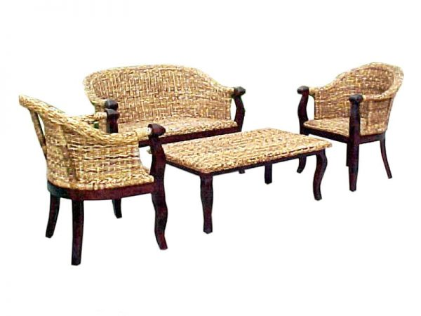 Juliet Wicker Living Set