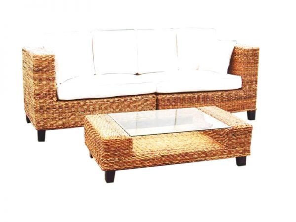 Connection Wicker Sofa Set