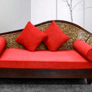Chaise Rattan Sofa