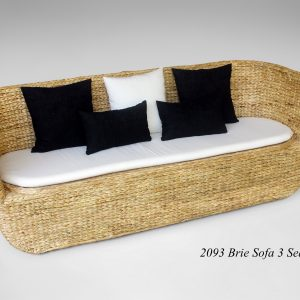 Brie Wicker Sofa