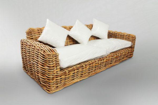 Herrera Rattan Sofa Natural