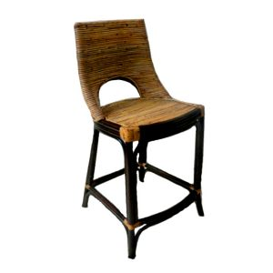 Wisteria Rattan Bar Stool