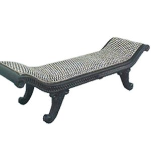 Alessandro Water Hyacinth Bench