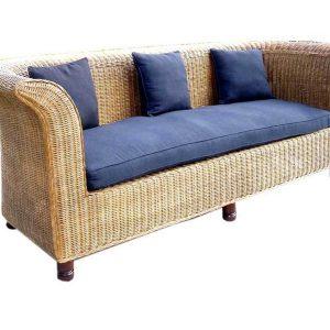Alaska Rattan Sofa 3 Seaters