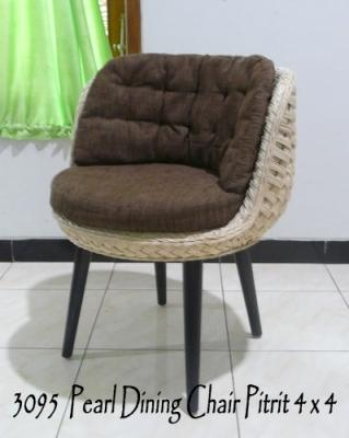 Pearl Rattan Dinning Chair
