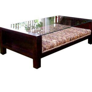 Sofa Rattan Table