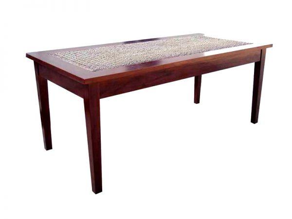 Saffo Rattan Dining Table