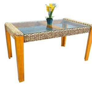 New Helena Wicker Dining Table