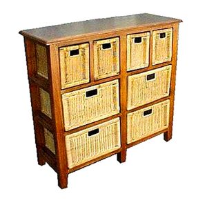Nevada Rattan Drawer