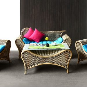 Jamaica Rattan Living Set