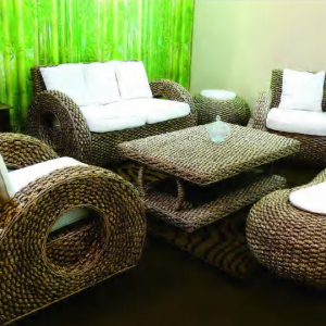Dokar Wicker Living Set