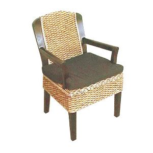 Vence Wicker Arm Chair