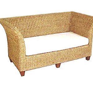 Bahary Wicker Sofa 2 Seaters