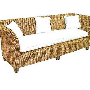Bahary Wicker Sofa 3 Seaters