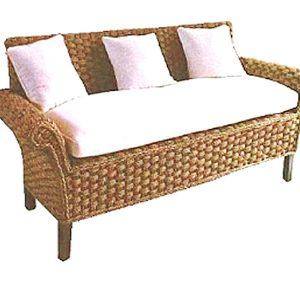 Carusel Wicker Sofa 3 Seaters