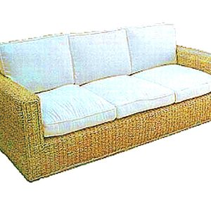Javier Wicker Sofa 3 Seaters