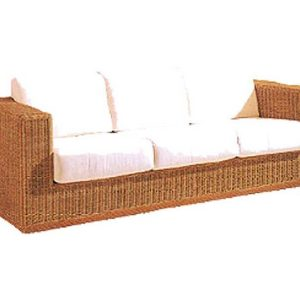 Kent Wicker Sofa 3 Seaters