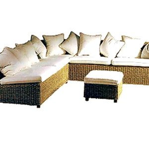 Lisabon Wicker Corner Set
