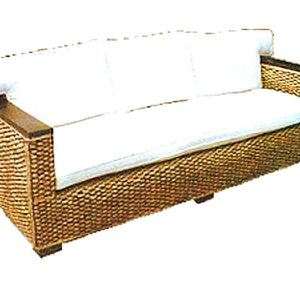 Napoli Wicker Sofa 3 Seaters