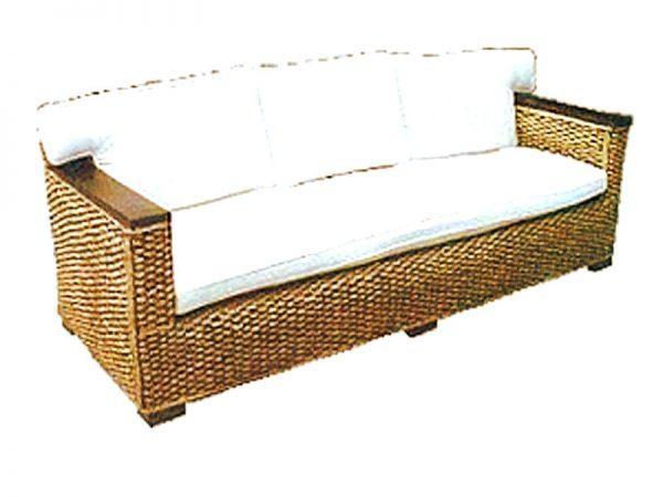 Napoli Wicker Sofa 3 Seaters