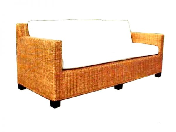 Nana Rattan Sofa 3 Seaters