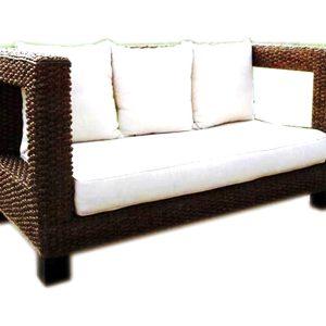 Morales Wicker Sofa