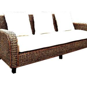 Mexico Wicker Sofa 3 Seaters
