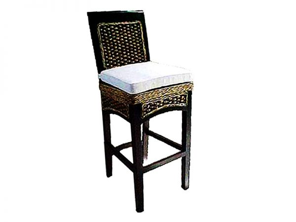Havana Wicker Barstool