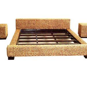 Matahari Wicker Bed Set