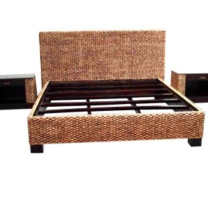Santana Wicker Bed Set