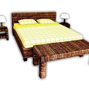 Nigel Wicker Bed Sets
