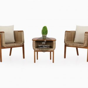 Arka Rattan Terrace Set