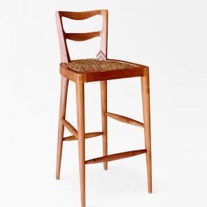 Belinda Wicker Bar Chair