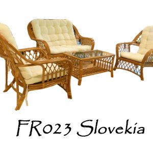 Slovekia Rattan Living Set