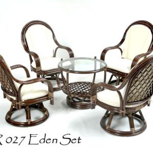 Eden Rattan Living Set
