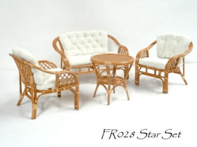 Star Cane Living Set