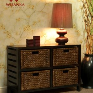 Jane Wicker 4 Drawers