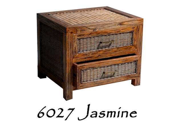Jasmine Rattan Drawer