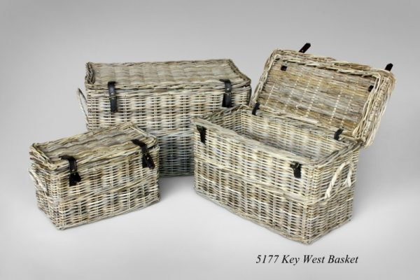 Key West Rattan Basket