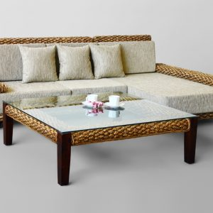 Laura Wicker Sofa Set