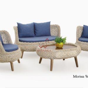 Morissa Wicker Living Set