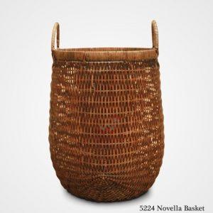 Novela Round Rattan Basket