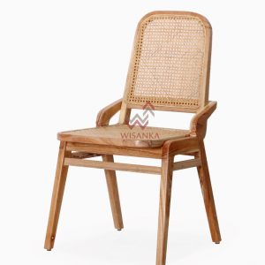 Oksana Rattan Dining Chair