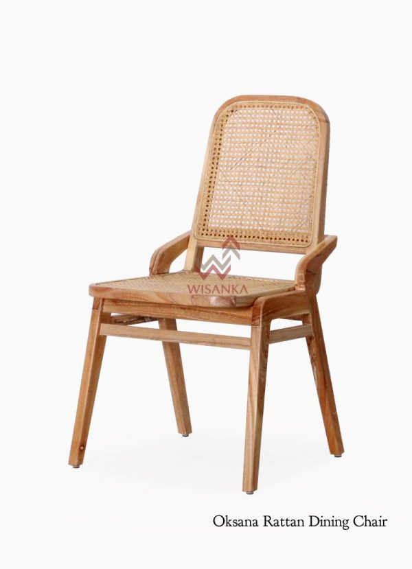 Oksana Rattan Dining Chair