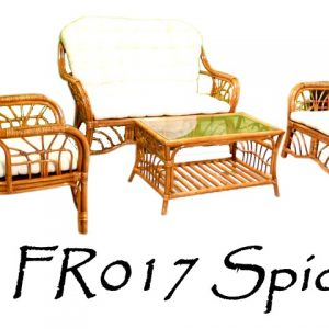 Spider Rattan Living Set